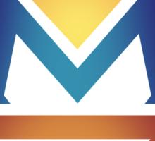 manny pacquiao Pac Man Sun Sticker