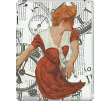 Caught in The Undertow Of Time.. iPad Case/Skin