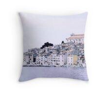 Rovin Old Town Throw Pillow