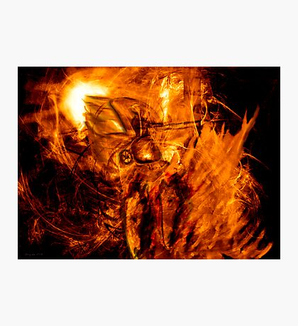 The Chariot of Fire Photographic Print