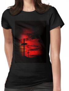 Gothic Womens Fitted T-Shirt