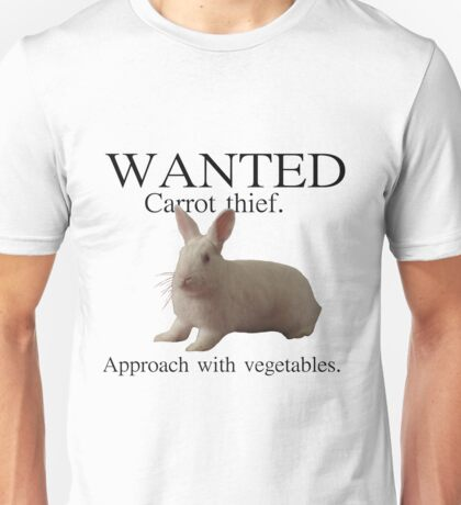 Wanted - Carrot thief T-Shirt