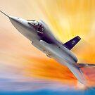 JSF F-35 Lightning by Bob Martin