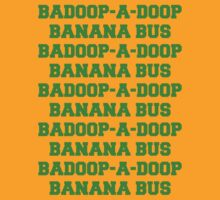 BADOOP-A-DOOP BANANA BUS by SiavaBelleSHOP