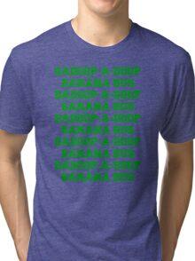 BADOOP-A-DOOP BANANA BUS Tri-blend T-Shirt