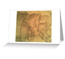 Structural Corruption Greeting Card