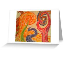Abstract Imagery Greeting Card