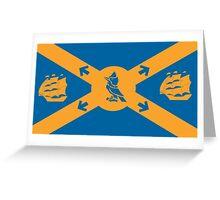 Flag of Halifax, Nova Scotia  Greeting Card