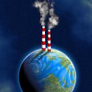 earth and pollution by BOOJOO