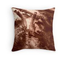 Caterpillars2 Throw Pillow