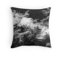 Caterpillars Fuzz Throw Pillow