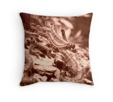 Caterpillar Cluster Throw Pillow
