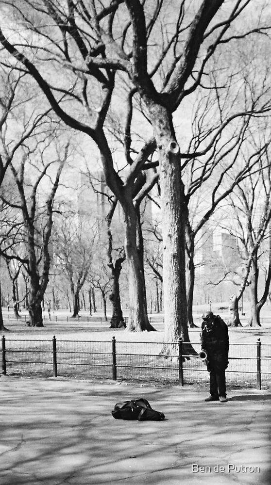 Sax in the Park by Ben de Putron