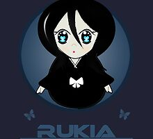 Bleach- Chibi Rukia by Elizabeth Escalera