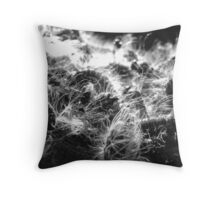Caterpillar Mass Throw Pillow