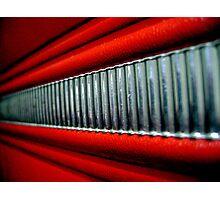 Red Interior Photographic Print