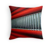 Red Interior Throw Pillow