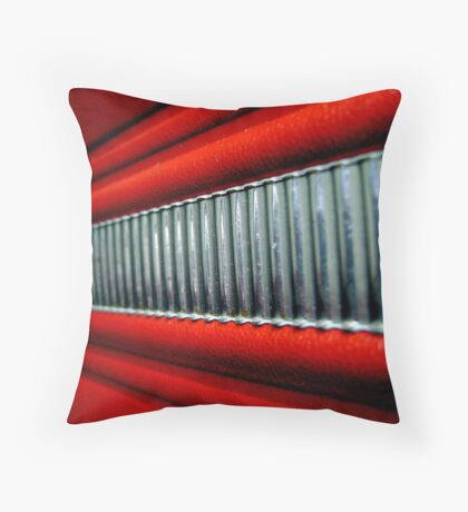 Red Interior Throw Pillow