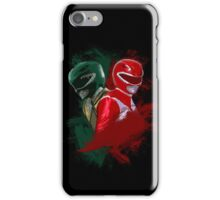 Tommy & Jason MMPR iPhone Case/Skin