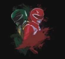 Tommy & Jason MMPR by Designsbytopher