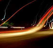 Speeding Night by heatherrinne
