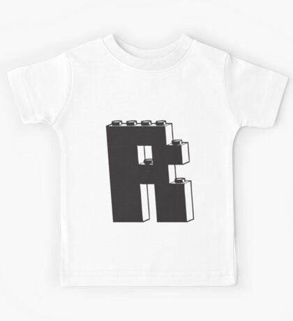 THE LETTER R Kids Tee