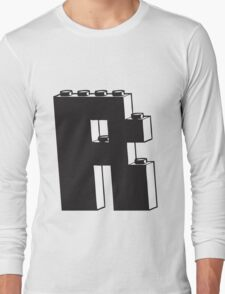 THE LETTER R Long Sleeve T-Shirt