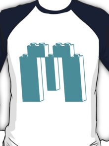 THE LETTER M, by Customize My Minifig T-Shirt
