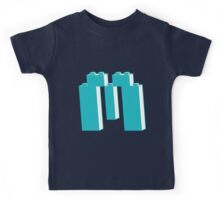 THE LETTER M, by Customize My Minifig Kids Tee