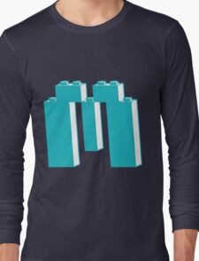 THE LETTER M, by Customize My Minifig Long Sleeve T-Shirt