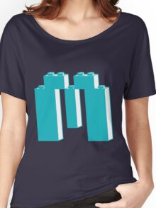THE LETTER M, by Customize My Minifig Women's Relaxed Fit T-Shirt