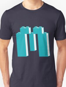 THE LETTER M, by Customize My Minifig Unisex T-Shirt