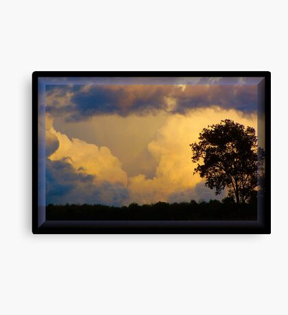 Stormy September Canvas Print