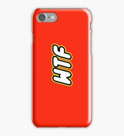 WTF iPhone Case/Skin