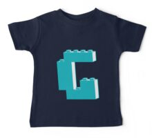 THE LETTER G, by Customize My Minifig Baby Tee