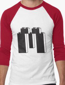 THE LETTER M Men's Baseball ¾ T-Shirt