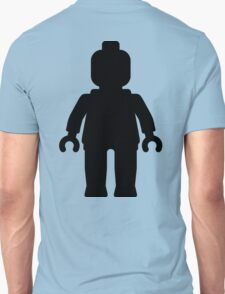 Minifig [Large Black] Unisex T-Shirt