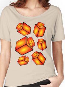 1 x 1 Bricks (AKA Falling Bricks) Women's Relaxed Fit T-Shirt
