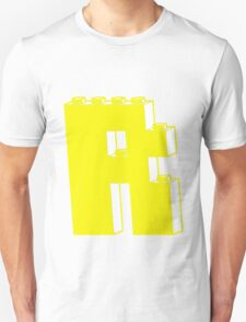 THE LETTER R, by Customize My Minifig Unisex T-Shirt