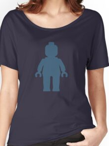 Minifig [Navy Blue], Customize My Minifig Women's Relaxed Fit T-Shirt