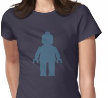 Minifig [Navy Blue], Customize My Minifig Womens Fitted T-Shirt