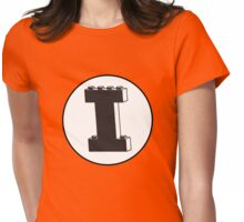 THE LETTER I Womens Fitted T-Shirt