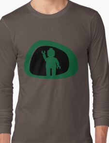 View from a Car Wing Mirror Long Sleeve T-Shirt