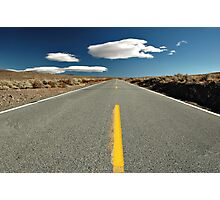 Desert Road Photographic Print