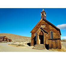 Abandoned Church Photographic Print