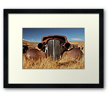 Rustic Car Framed Print