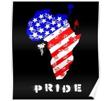 African American Pride Poster