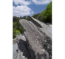 blowing rock Photographic Print