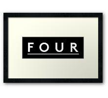 FOUR Framed Print