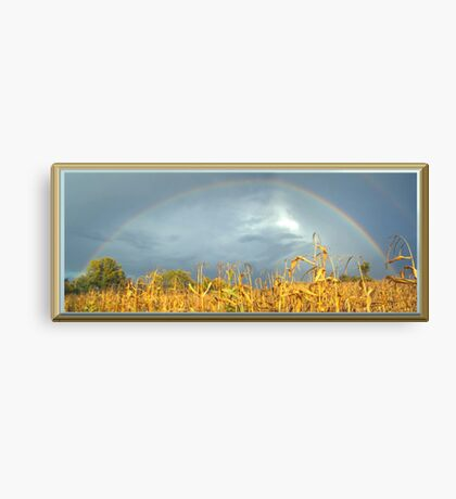 FULL RAINBOW Canvas Print